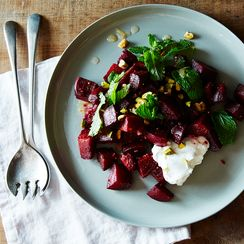 Spiced Beet Salad with Citrus-Ginger Dressing