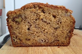 Cracked Top Olive Oil Banana Bread Recipe on Food52