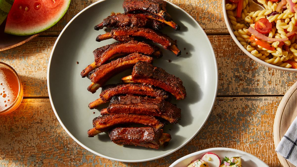 Baby Back Ribs With Dry Rub Recipe