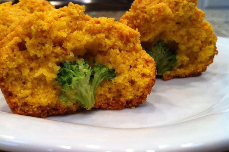 Sassy Broccoli Muffins