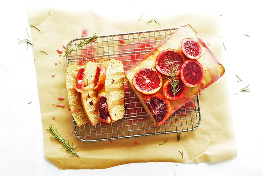 Bloody Orange Rosemarry Pound Cake