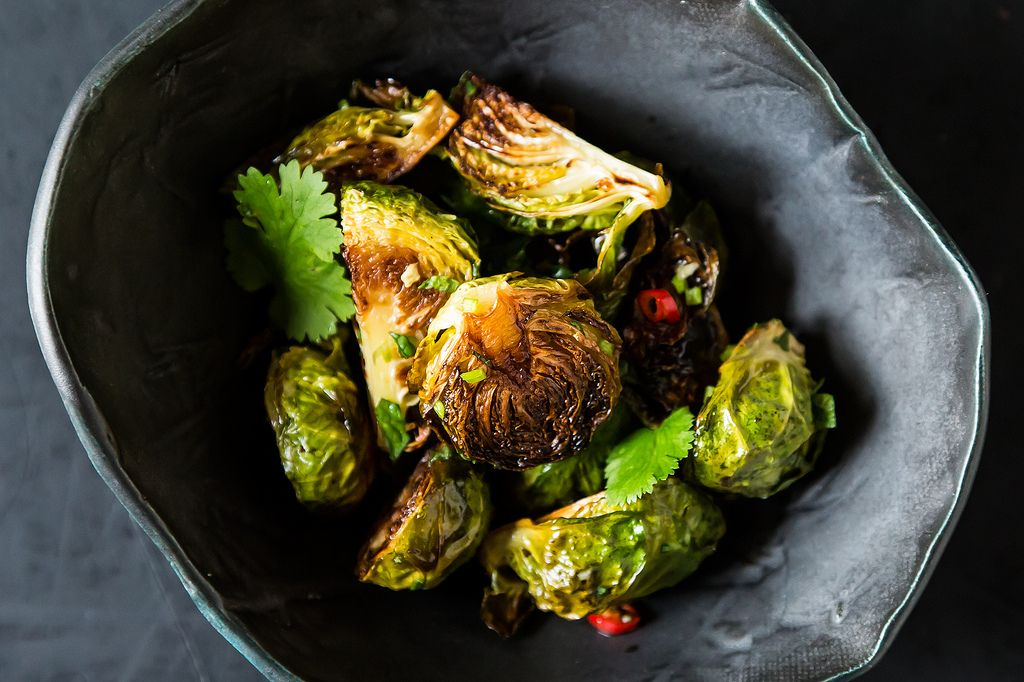 Momofuku Brussels Sprouts with Fish Sauce