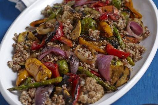 Quinoa and Grilled Marinated Vegetable Salad