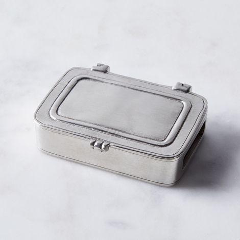 Italian Pewter Match Box