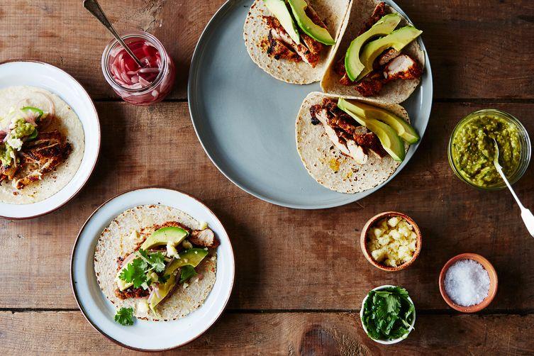 Weekday Chicken Tacos