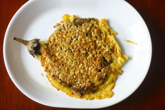 Tortang Talong (Filipino Eggplant Omelet)