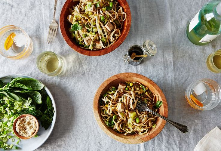 Eat Summer Noodles Cold—Like Francis from Cooking with Dog
