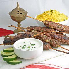 Resham Lamb Kebabs
