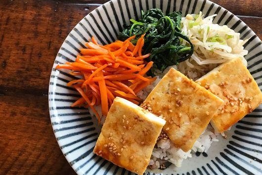 Tofu Bibimbap