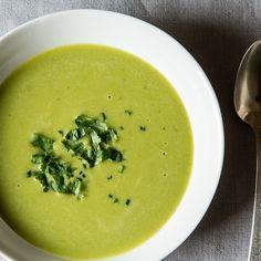 Thai-Scented Asparagus Soup