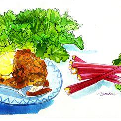 Orange-and-ginger-infused Crisp by Nancy Taylor Robson