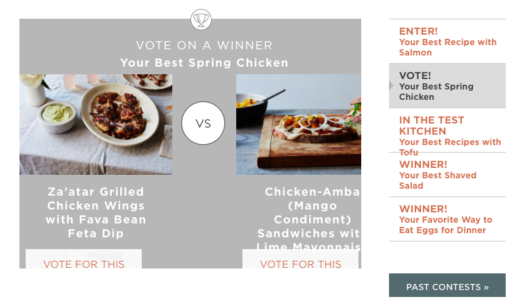 Head to the contest page to vote for the finalist you think should win.