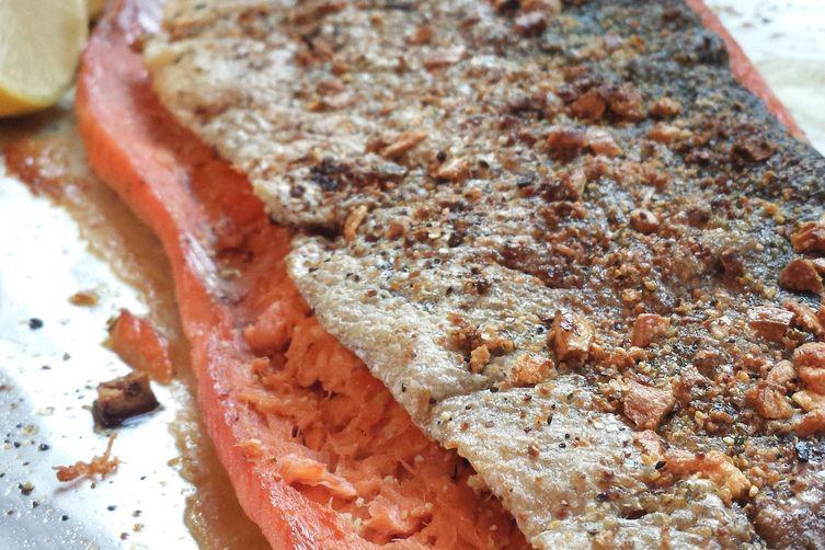 Lemon & Garlic Roast Salmon