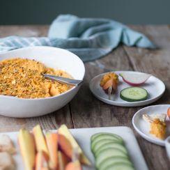 Spicy Butternut Squash Dip with Dukkah