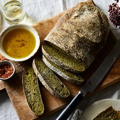 This 3-Ingredient Italian Bread Has a Green Trick Up Its Sleeve