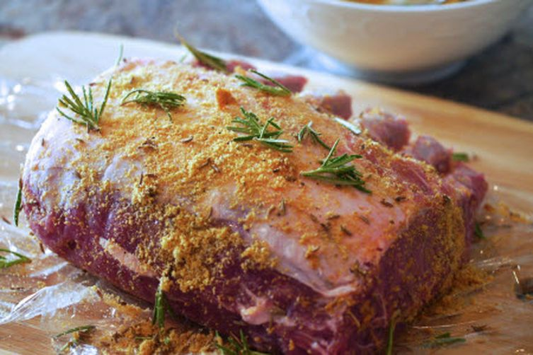 Gourmet rib pork roast recipe recipe on food52 - Christmas pork roast five recipes ...
