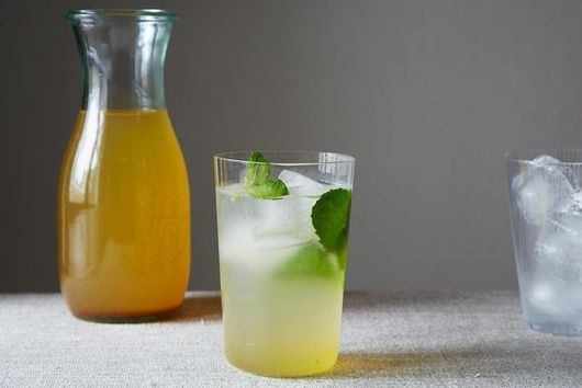 Louisa Shafia Chooses Saffron and Cardamom Lemonade