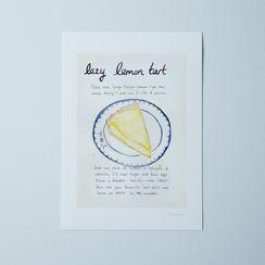 Food52's Lazy Mary's Lemon Tart Recipe Print