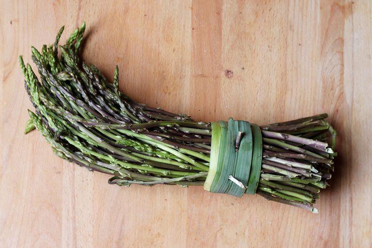 Wild Asparagus Farrotto