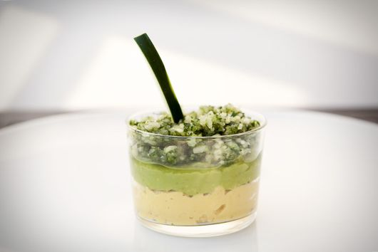 CHICKPEA AVOCADO MOUSSE-TAIL