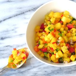 pineapple and mango salsa