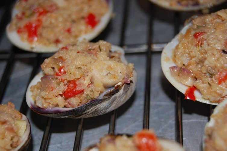 Rose's Deviled Clams Casino