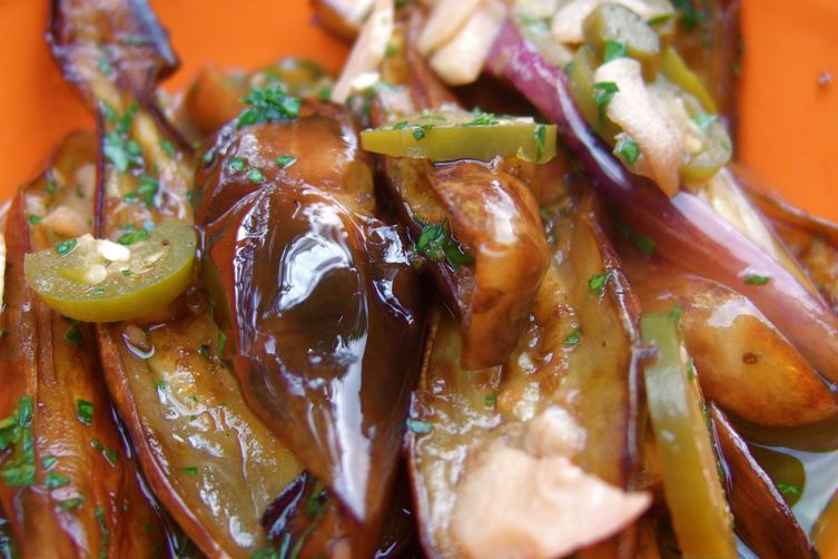 Ofra's Spicy Fried Eggplant
