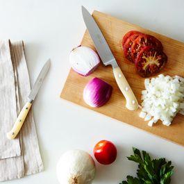 White-Handled Italian Kitchen Knives