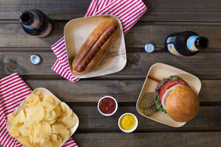 Hot Dog and Hamburger Potato Buns