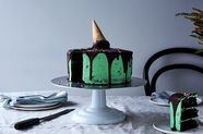 "Martha Collison's Mint Chocolate ""Ice Cream"" Cake"