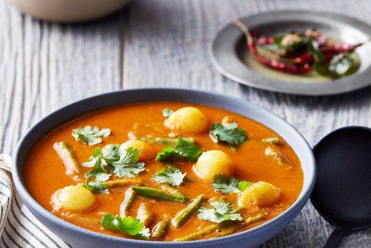 Instant Pot Sambhar Lentils With Tamarind Paste