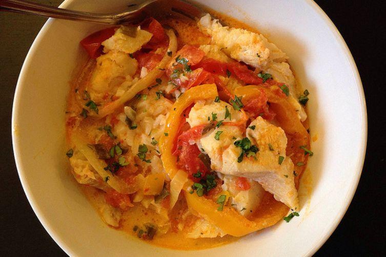 Bahian-Style Moqueca (Brazilian Fish Stew)