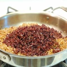 Toasted Black Rice and Farro
