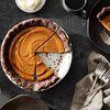 Pumpkin & Tahini Pie with Chocolate Pie Crust
