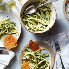 How to Eat All That Zucchini? A Newfangled, Totally Genius Caesar Salad