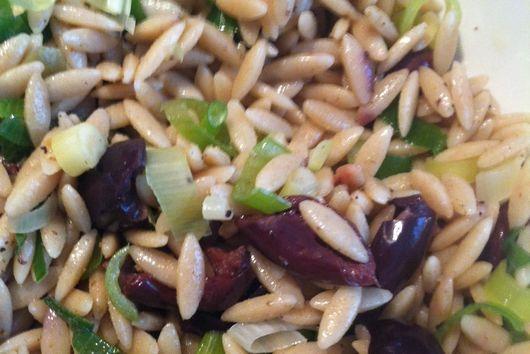 Orzo Olive Salad