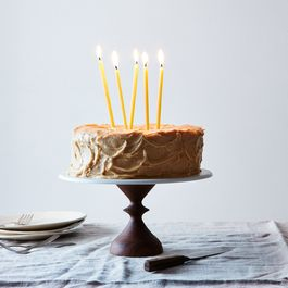 Food52 Walnut Cake Stand, by AHeirloom