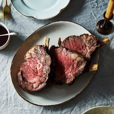 Standing Rib Roast with Jammy Pan Sauce