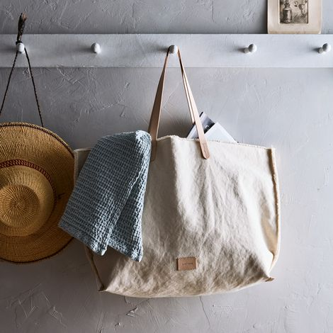 Washed Canvas Tote