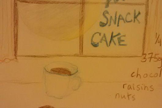 Stay-Awake Snack Cake