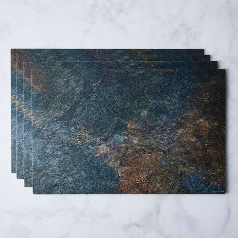 Natural Vinyl Placemats (Set of 4)