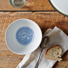 Deep Porcelain Soup Bowls (Set of 2)