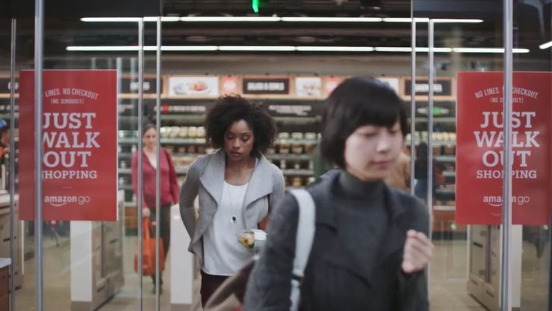 Amazon Go's no-checkout grocery shopping concept