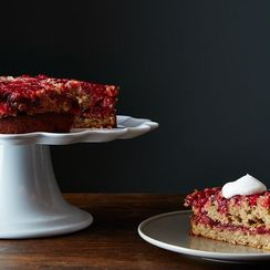 A Cranberry Ginger Upside-Down Cake To Steal the Show