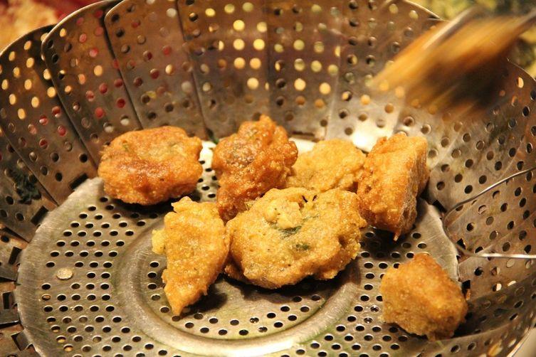 Dandelion Fritters