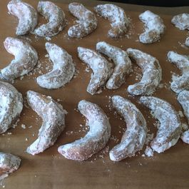 Maple Olive Oil Praline Crescents