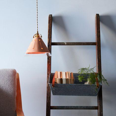 Galvanized Metal Hanging Bin
