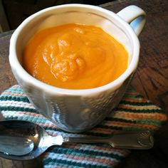 Curried Carrot & Parsnip Soup