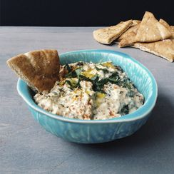 Roasted Kale + Lemon Baba Ghanoush