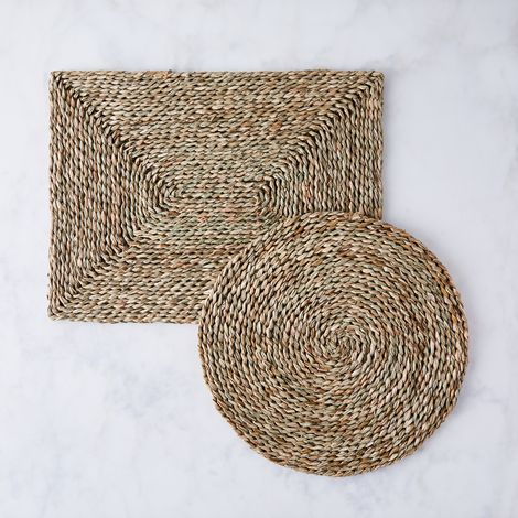Woven Seagrass Placemat (Set of 4)